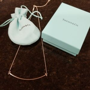 Tiffany smile necklace